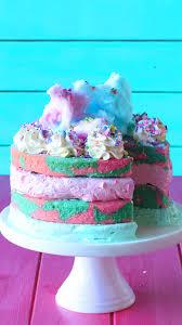Cotton Candy Ice Cream Cake Recipe Tastemade