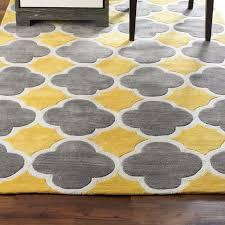 outstanding langley street noam hand tufted beigegrayyellow area turquoise yellow and gray rug