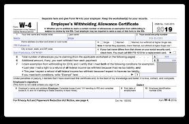 How Do Allowances Affect Withholding How To Fill Out 2018 2019 Irs Form W 4 Pdf Expert