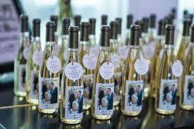 Mini Wine Bottles Wedding Favours