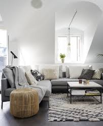 Light Gray Living Room Furniture Living Room Eclectic Gray Living Room Style With Chenille Sofa