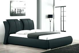zinus faux leather upholstered platform bed with wooden slats king cal deluxe