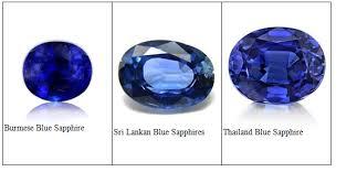 Burmese Sri Lankan And Thailand Blue Sapphire In 2019