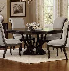 oval pedestal dining tables breathtaking round espresso dining table inspiration homelegance savion round