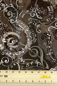 14 best music fabric black/white images on Pinterest | View source ... & Concerto Mozarts Music Print Cotton Fabric by Maria Kalinowski - Black,  Grey & White - Premium Quilting Fabric Adamdwight.com