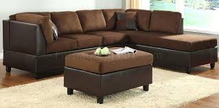 comfort living sectional sofa in chocolate by colored sofas brown decorating ideas p brown sectional couch cool couches
