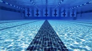 swimming pool background. Bright Blue Swimming Pool. Backgrounds Pool Background