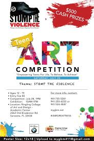 Teen art contest all events