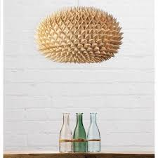 bamboo spikey ball easy fit light shade