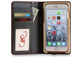 iphone 7 plus wallet case leather