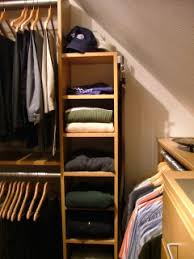 Small Picture Designing Closets With Sloped Ceilings