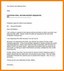 sample of collection letter sample collection letter template