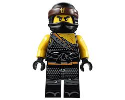 LEGO Set fig-002908 Cole with Orange Asian Symbol on Head Wrap (Hunted)  (2018 Ninjago) | Rebrickable - Build with LEGO