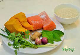 Cháo cá hồi bí đỏ – món ngon cho người già, trẻ nhỏ - Món ăn sáng -  WebGiaDinh.org