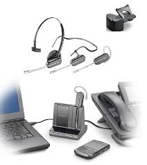 plantronics savi w740 wireless headset triple play works with desk phone cell phone and computer