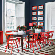 budget decorating ideas paint dining chairs