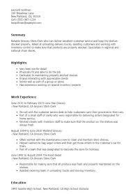 Retail Clerk Sample Resume Extraordinary Pin By Job Resume On Job Resume Samples Pinterest Letter