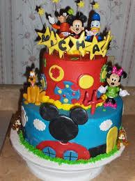 Mickey Mouse Birthday Cake Kids Birthday Parties