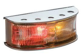 Hella Side Marker Lights Hella Duraled Side Marker Lamp Polished Stainless Steel Pack Of 4