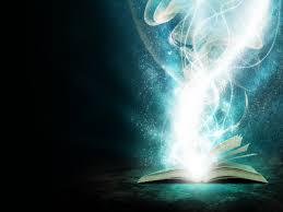 Image: showing magic book.