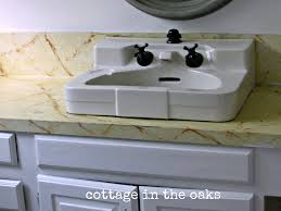 Painting Bathroom Fixtures Spray Painted Faucet My Faucet Fail Cottage In The Oaks