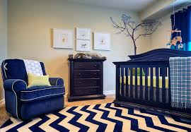 blue white chevron rug navy blue white and yellow accents walls are already yellow and we