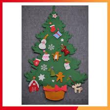 SALE] Cây thông Noel giáng sinh vải nỉ handmade luyện kỹ năng cài khuy - đồ  chơi giáo dục chất lượng cao