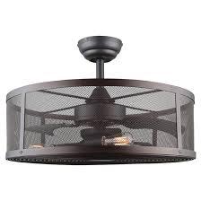 ceiling fan with 3 lightbulbs 60 w oiled bronze