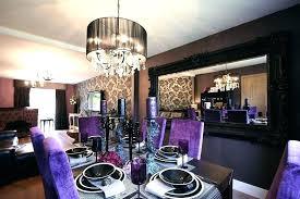 purple dining room ideas blue and table decor purpl