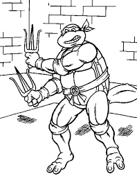 Small Picture Teenage Mutant Ninja Turtles Printable Coloring Pages FeltMagnet