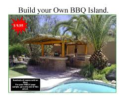 Build Your Own Outdoor Kitchen Diy Bbq Island Plans How To Build A Bbq Island Build An Outdoor