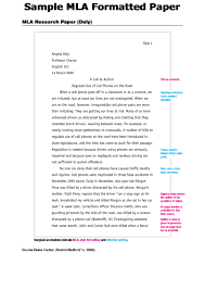 Sample Mla Style Paper 13 Mla Paper Templates Free To Download In Pdf