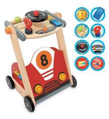 i m toy wooden racing walker
