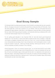 Academic And Personal Goals Custom Paper Example January 2019