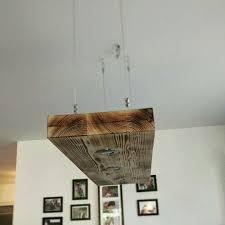 Diy Esstisch Lampe Aus Holz Lampe In 2019 Esstisch