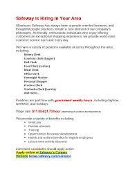 safeway job application online form safeway careers kays makehauk co