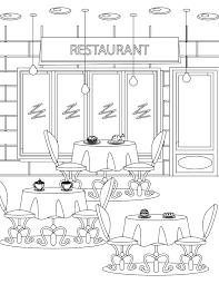Imprimer Coloriage Tous Au Restaurant 2016 Room L L L