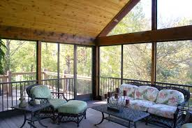 gorgeous vaulted deck addition