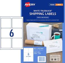 avery 6 up label template inkjet labels 6 per sheet j8166 white permanent avery 936023 box 25