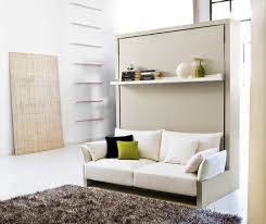 creative space saving furniture. Space Saving Furniture Designs. Bedroom. Creative Wall Bed Couch Design Featuring White With Furry Area Rug Floor U