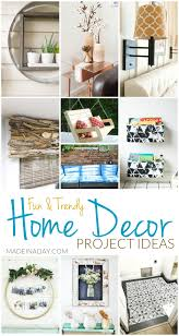Fun Trendy Home Decor Project Ideas Made in a Day