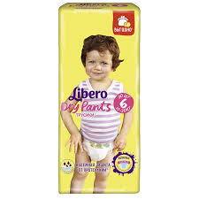 <b>Трусики Libero Dry</b> pants, 30 шт | Магнит Косметик