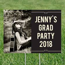 Shes Invited Yard Sign Graduation Party Decorations Pear Tree