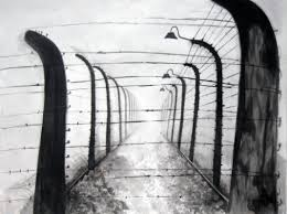 barbed wire fence holocaust. Brilliant Holocaust Holocaust Art Series  Barbed Wire Fence With E