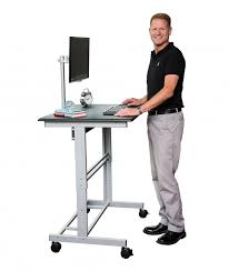 40 stand up desk w free monitor