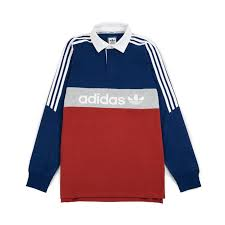 adidas skateboarding rugby nautical polo