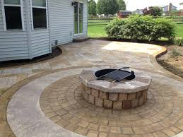concrete patio cost vs pavers large size of patio vs per sq ft in for concrete patio cost vs pavers