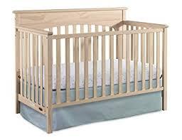 Amazon.com : Graco Lauren 4-in-1 Convertible Crib, Whitewash, Easily ...
