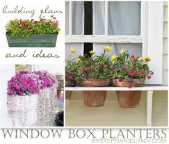 Ten DIY Window Box Planter Ideas with Free Building Plans  Tuesday {ten}