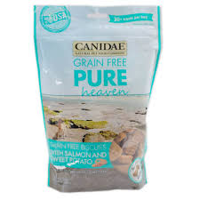 canidae grain free pure heaven dog biscuits with salmon sweet potato